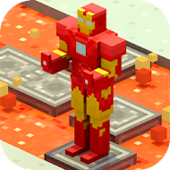 Crossy Robot : Combine Skins [Мод: Unlocked]
