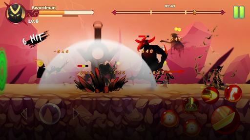 Stickman Ninja : Legends Warrior - Shadow Game RPG  screenshots 2