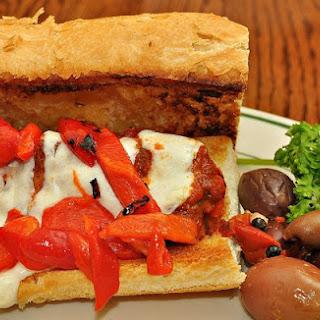 Italian Grinder Sandwich.