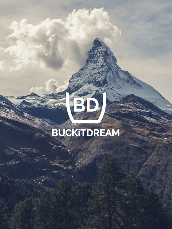 BUCKiTDREAM - Bucket List App- screenshot