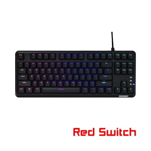 Bàn phím cơ Fuhlen M87s Red Switch (Đen)
