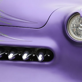 Purple Car by VAM Photography - Transportation Automobiles ( abstract, parade, grill, automobile, art, transportation,  )