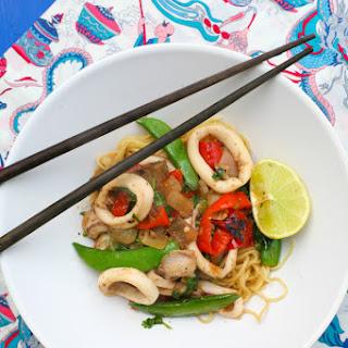 Asian Squid Recipes.