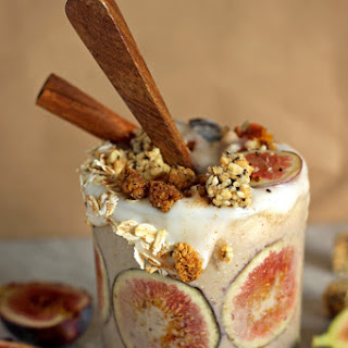Creamy Fig and Cinnamon Fall Smoothie