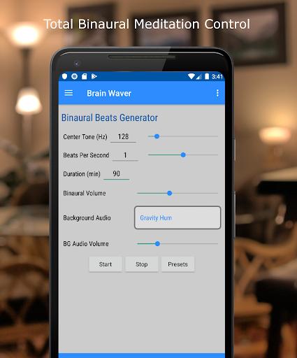 Binaural Beats Relaxation - Brain Waver screenshot for Android