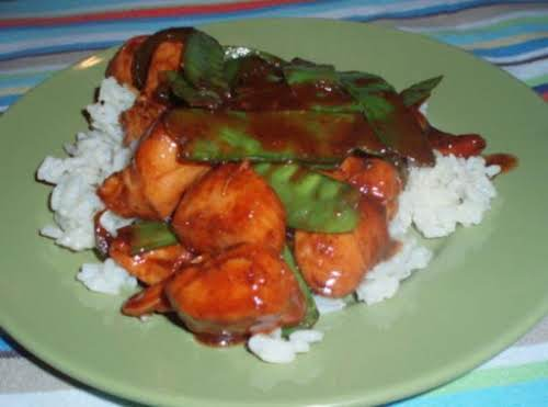 "Best Ever Chinese Chicken ""My kids LOVE this recipe and have requested..."
