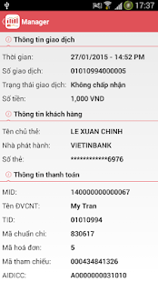 mPoS.vn Manager- screenshot thumbnail