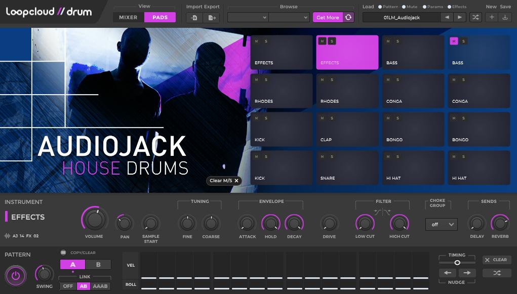loopcloud drum vst sampler