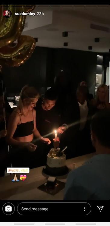 Rachel Kolisi party