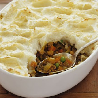 Lamb Mince and Potato Bake