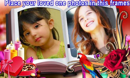 Dual Books photo frames effect