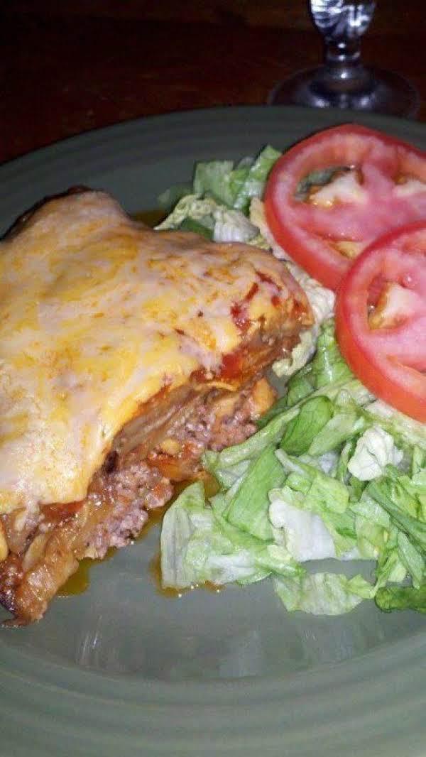 Eggplant Lasagna With Side Salad
