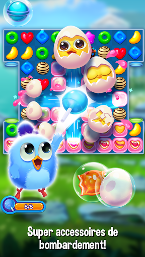 Code Triche Bird Friends : Match 3 & Free Puzzle apk mod screenshots 2