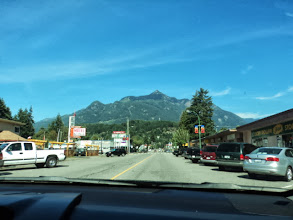 Photo: But first a stop in Hope, BC for ice cream.