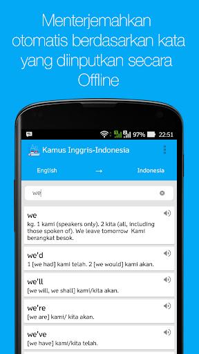 Kamus Inggris - Indo (Offline)|玩書籍App免費|玩APPs