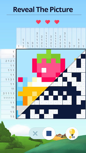 Nonogram - Picture cross puzzle apkslow screenshots 2