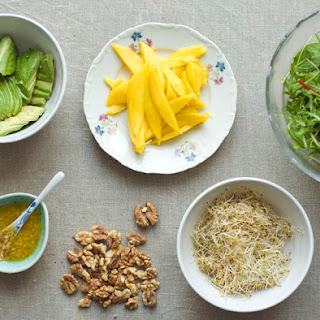 Mango & Walnut Salad