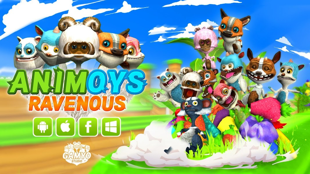 Animoys Ravenous v1.0.2 (Unlimited Money) Hack Mod APK - Cover