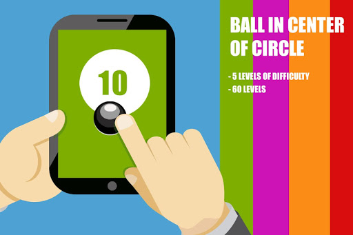 Ball In center of circle