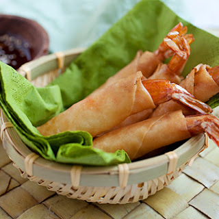 Shrimp and Cheese Spring Rolls Recipe