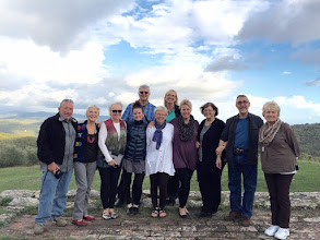 Photo: Part of our group- Tuscany 2015