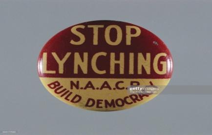 """Stop Lynching"" Button : News Photo"