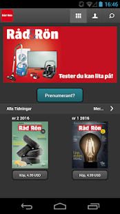 Råd & Rön screenshot