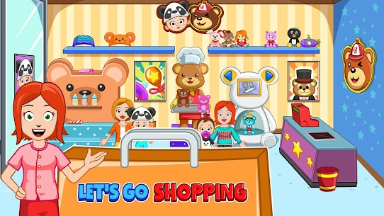 My Town : Shopping Mall MOD APK 1.00 [Characters Unlocked] 2