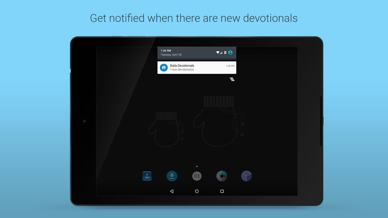 Daily Devotionals- screenshot