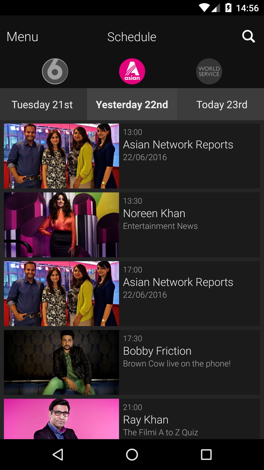BBC iPlayer Radio screenshot #4