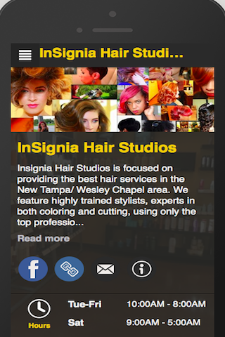 InSignia Hair Studios- screenshot
