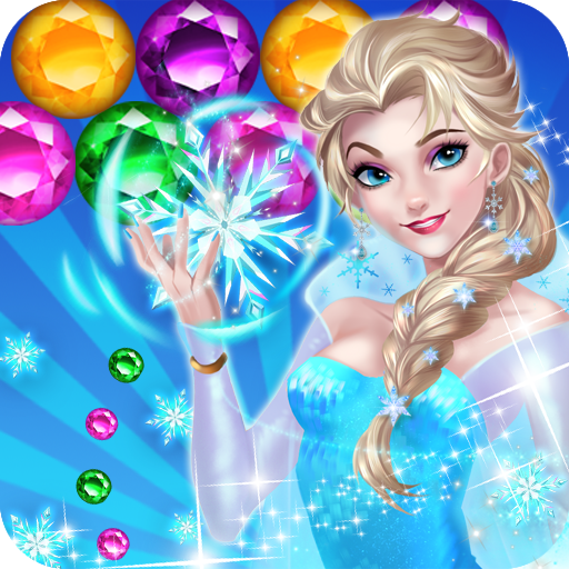 Ice Queen Game Bubble Shooter (game)