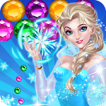 Ice Queen Game Bubble Shooter Icon