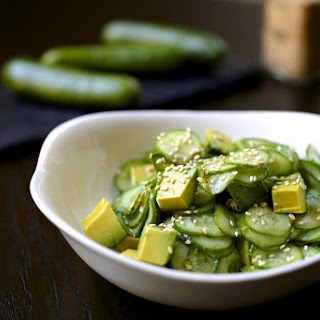 Pickled Cucumber and Avocado Salad