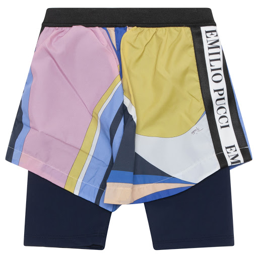 Thumbnail images of Emilio Pucci Patterned Shorts