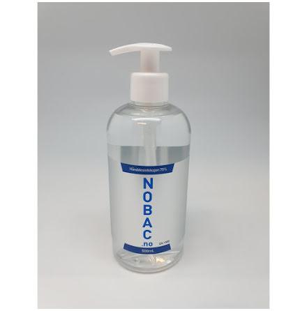 Nobac hånddesinfeksjon 0,5 L pumpekanne