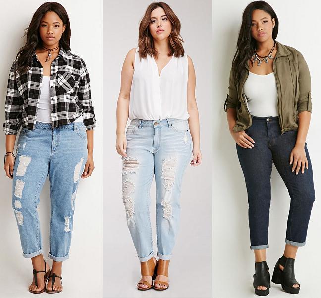 Gợi ý những cách mặc đẹp với quần baggy jean cho người béo | Phụ ...