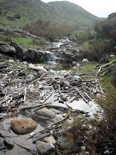 Photo: Desembocadura de torrent entre Cala moragues i Cala en Calderer