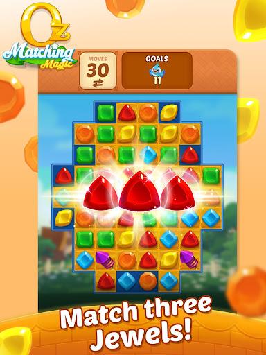 Matching Magic: Oz - Match 3 Jewel Puzzle Games screenshot 17
