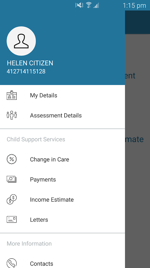 Express Plus Child Support- screenshot