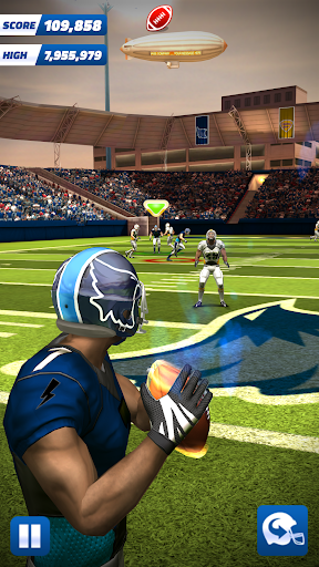 Flick Quarterback 20 - American Pro Football  captures d'u00e9cran 1