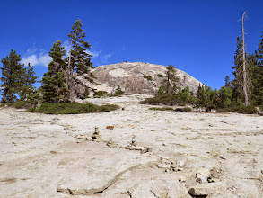 Photo: Sentinal Dome, which we hiked for the 360 deg view.