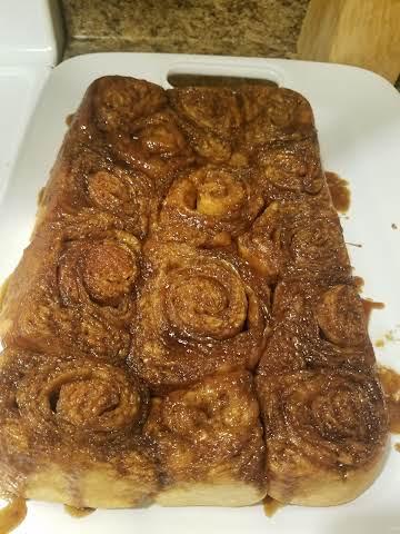 Caramel-Pecan Rolls for Bread Machine