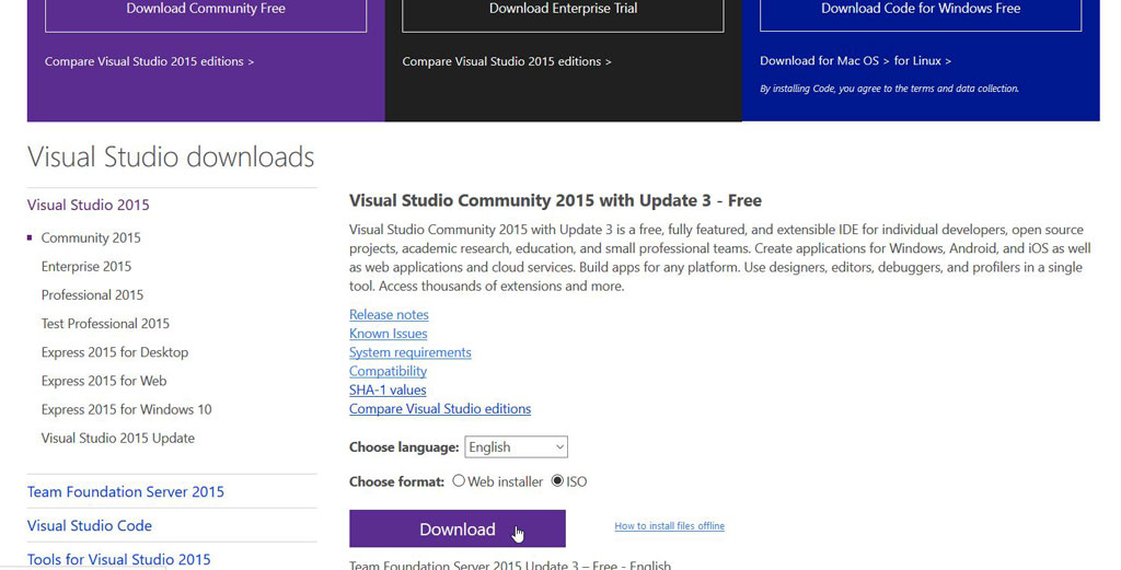 VS : How to fix stuck Visual Studio Community installation