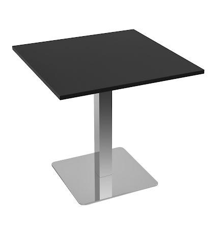 Cafébord 600x600 svart