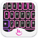Neon Pink Club Keyboard Theme v 6.9.22