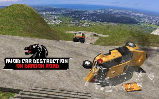 Cruiser Car Stunts: Dragon Road Driving Simulator apktram screenshots 12