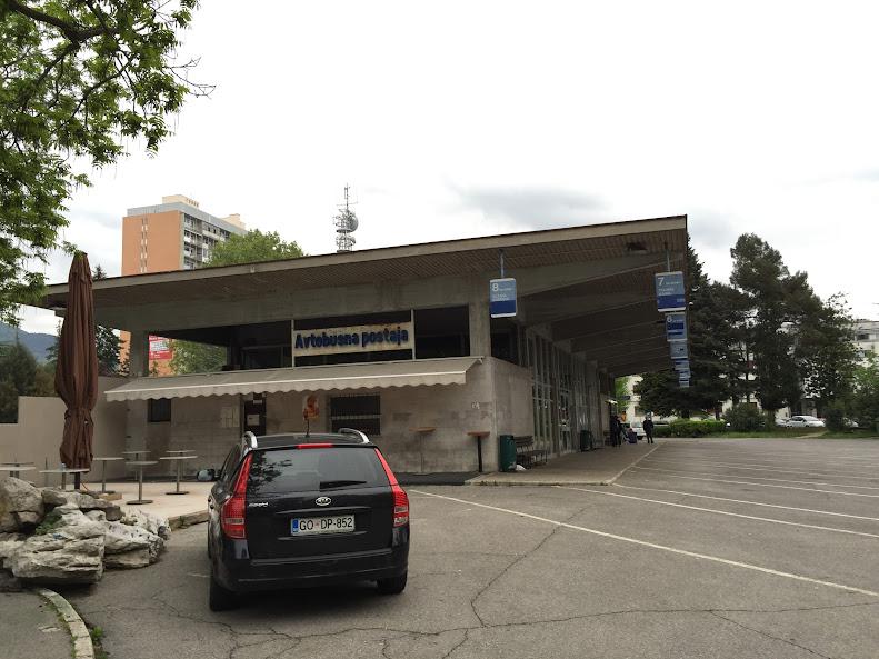 ノヴァ・ゴリツァ バスターミナル