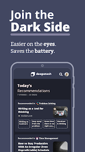 App Deepstash - Self Improvement, Motivation & Care APK for Windows Phone