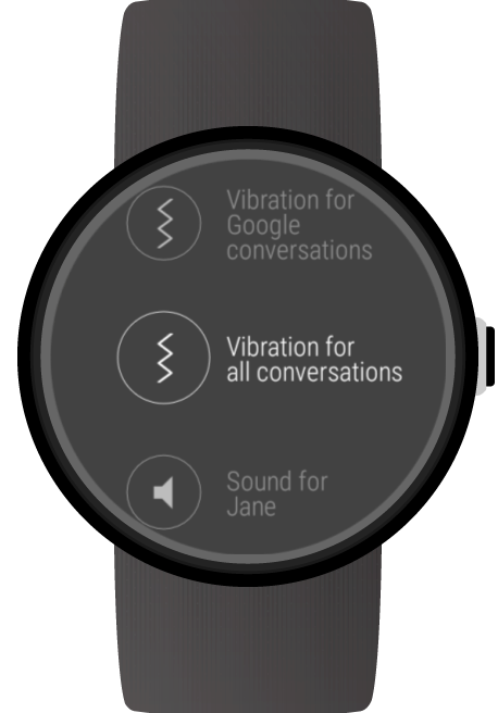 Messages for Wear OS (Android Wear) screenshots
